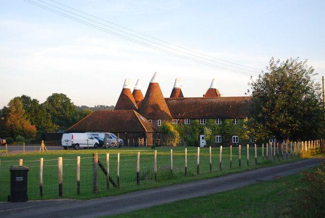 Hawden Oast house