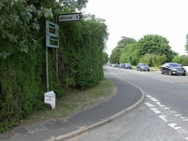 Halford, milepost
