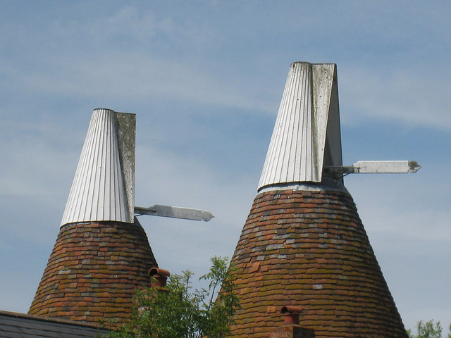 Cowls of The Oast House, Pristling Lane