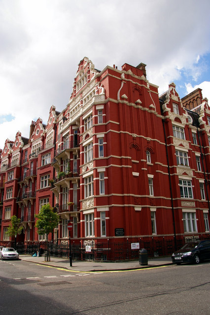 Hyde Park Mansions, Chapel Street, London NW1