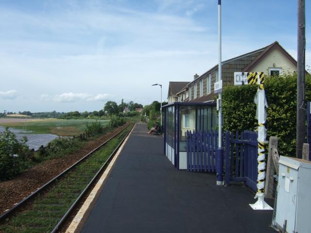 Exton railway station