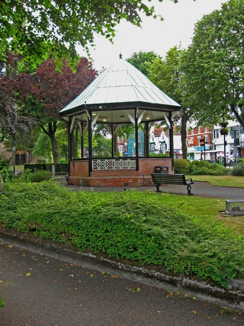 Bandstand, Church Green