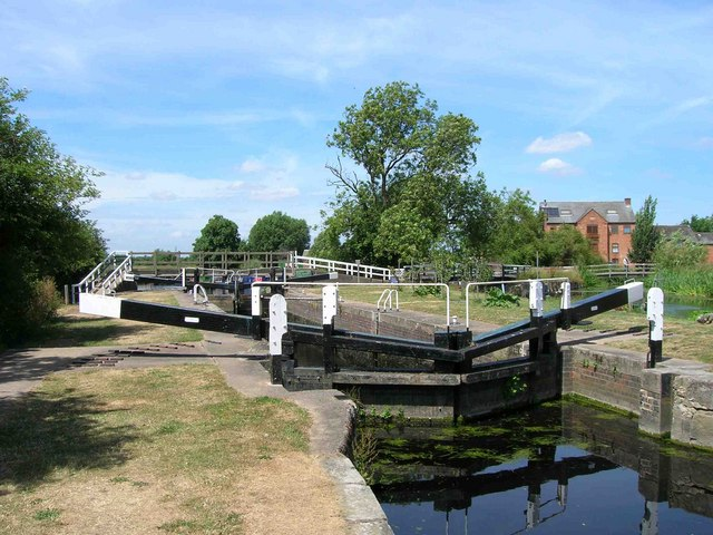 Lock No 49, River Soar, Sileby Mill