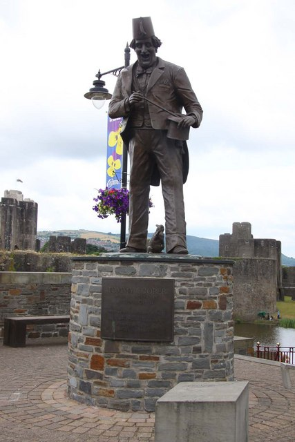 Tommy Cooper in Caerphilly