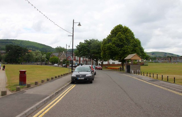 Crescent Road in Caerphilly