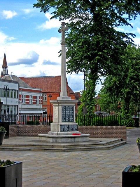War Memorial, Church Green