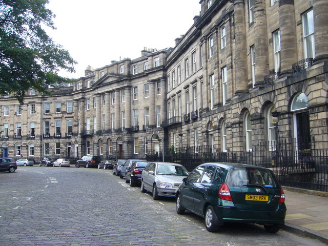 Moray Place, New Town