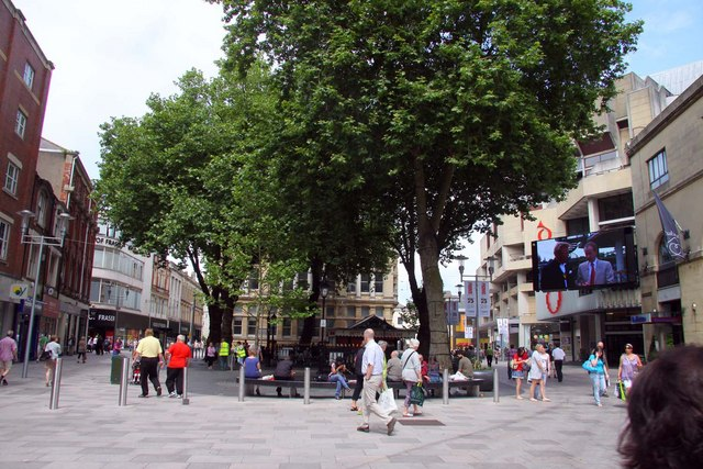 The Hayes in Cardiff