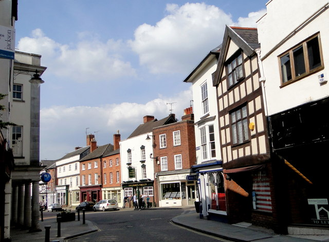High Street and Broad Street, Leominster