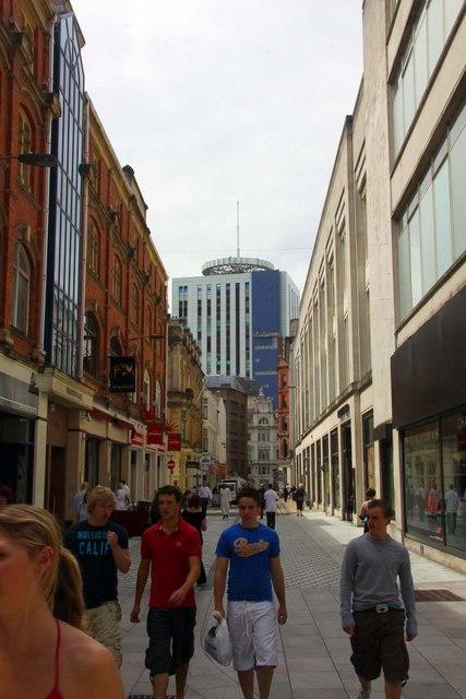 Wharton Street in Cardiff