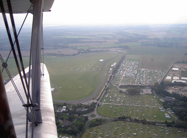 Goodwood Circuit from the air