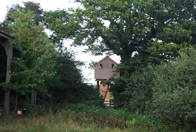 Tree house, Hale Oak Farm