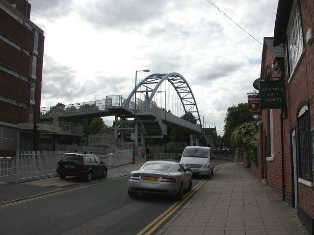 Coventry, footbridge