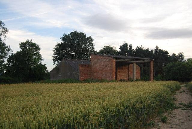 Brick barn, Sharp's Place