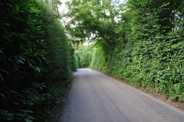 Tiverton : Seven Crosses Road