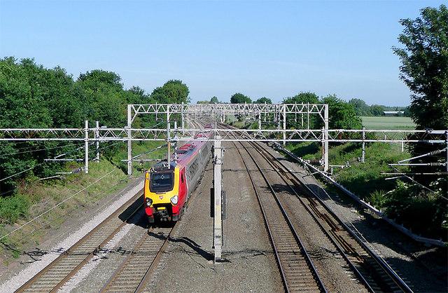 Railway near Hartshill, Warwickshire