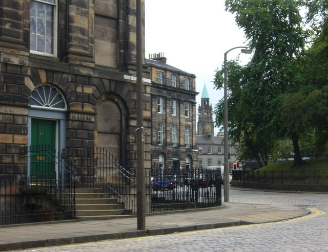 St George's West from Great Stuart Street