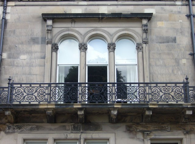 Balcony window  in Rothesay Place