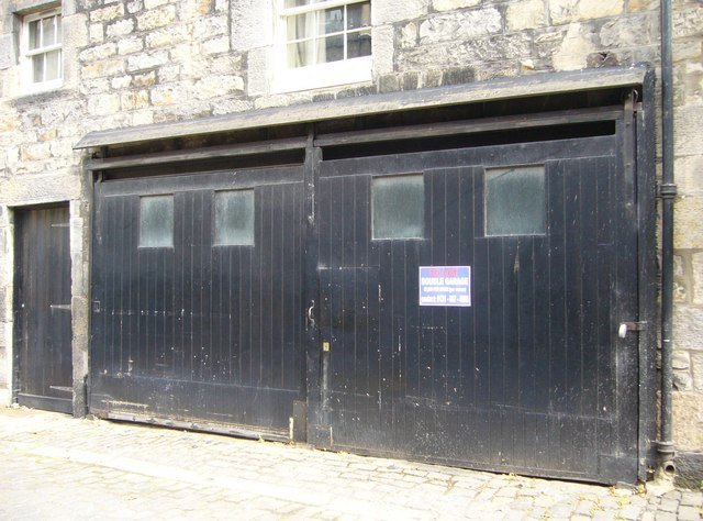 Garages in William Street Lane North East