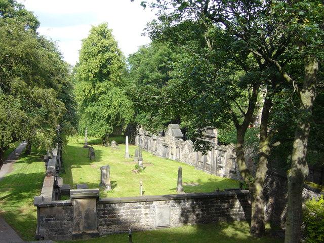 St Cuthbert's graveyard from Lothian Road