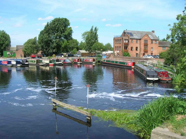 Sileby Mill and marina, River Soar