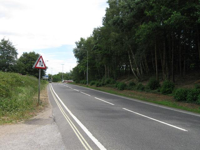 A334 towards M27