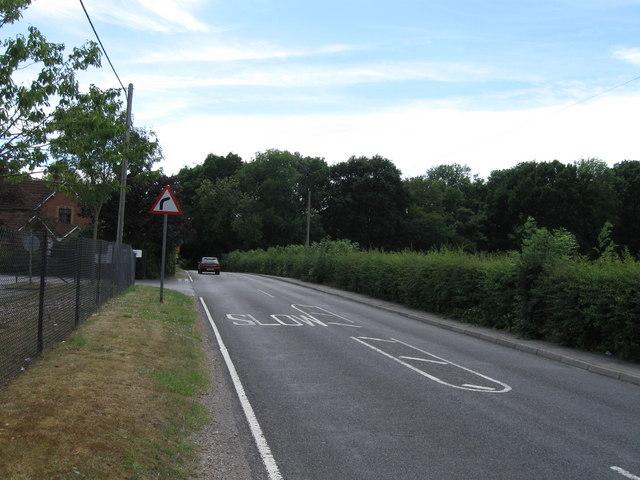 Woodhouse Lane towards Hedge End