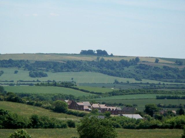 Highwall Spinney from near Tredington Hills
