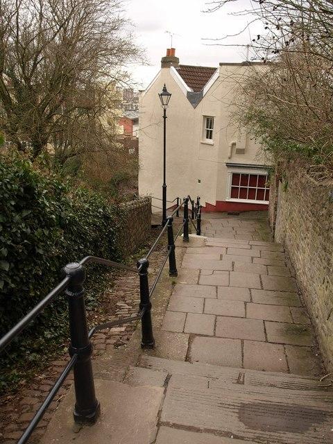 White Hart Steps, Bristol