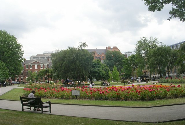 Park Square - viewed from Park Square West