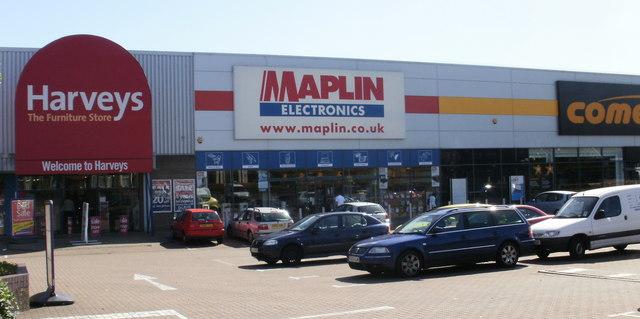 Harveys, Maplin and Comet, Newport Road, Cardiff