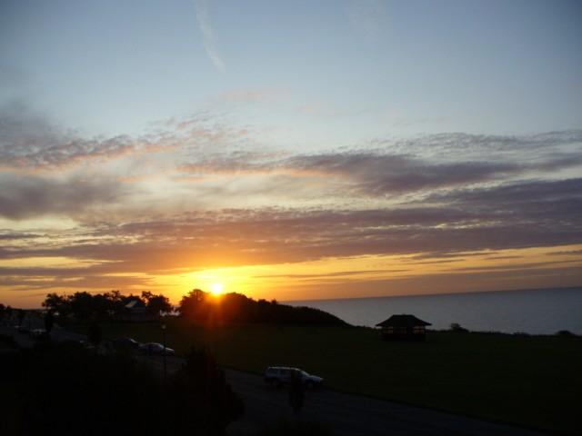 Sun Rise Over Frinton On Sea