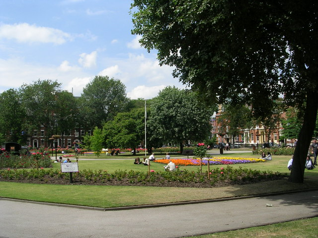 Park Square - viewed from Park Square East