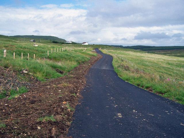 Road to Balmeanach, 18 months on