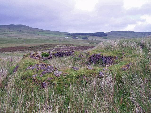 Ruin in Glen Colbost