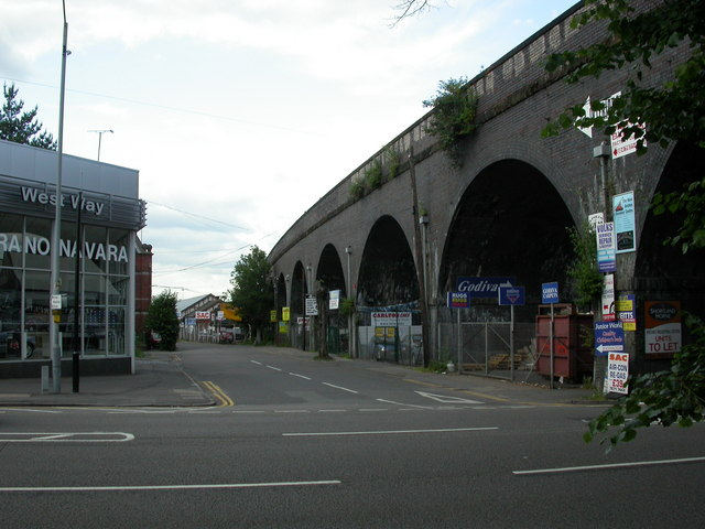 Coventry, railway viaduct