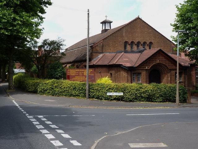 St Francis' Parish Church, Shaver's End, Dudley
