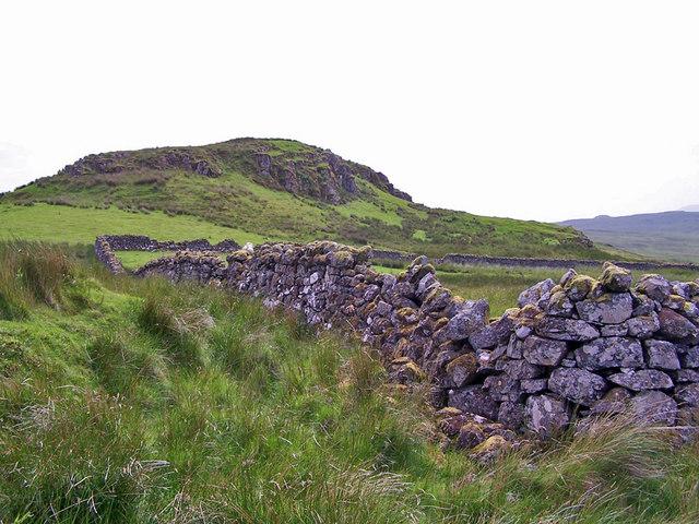 Stone walled sheep pen