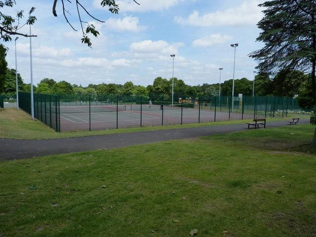 Council Tennis Courts, Dudley