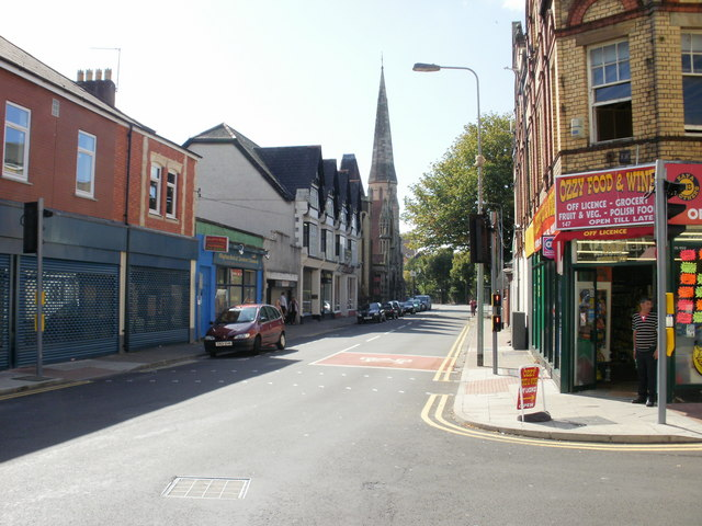 Four Elms Road, Cardiff