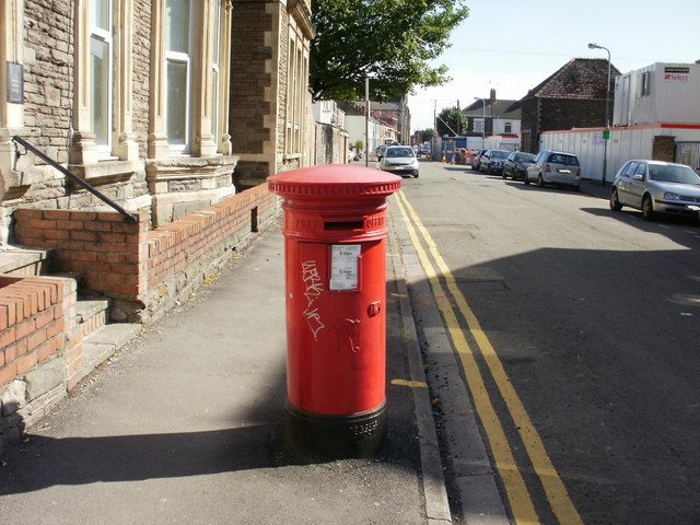 Victorian postbox, Orbit Street, Cardiff
