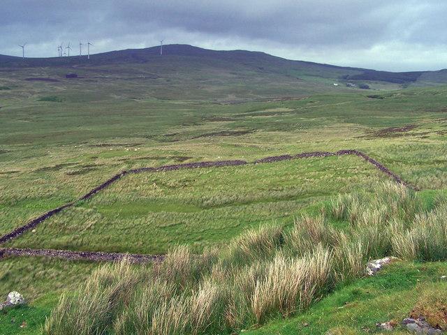 Sheep pen in Glen Colbost