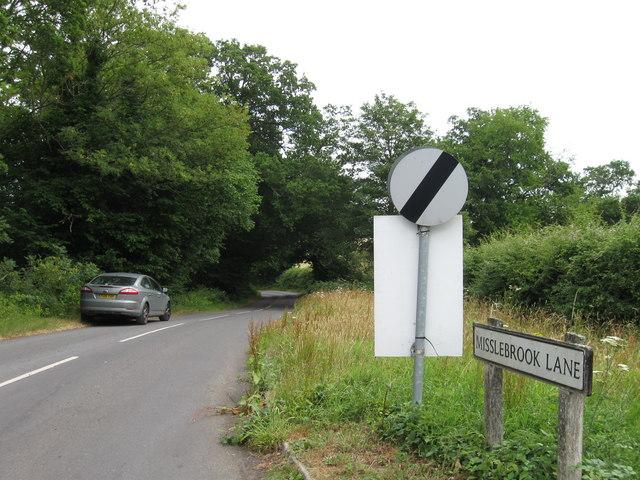 Misslebrook Lane, Chilworth
