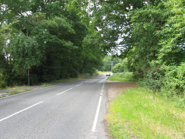 Rownhams Lane from Packridge Lane