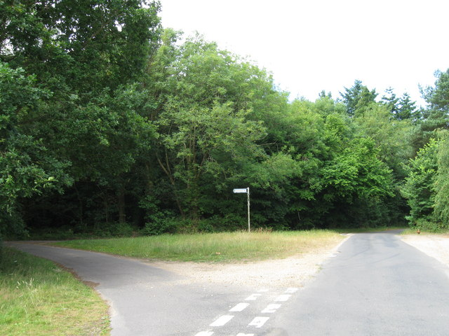 Junction of Lanes at Toot Hill