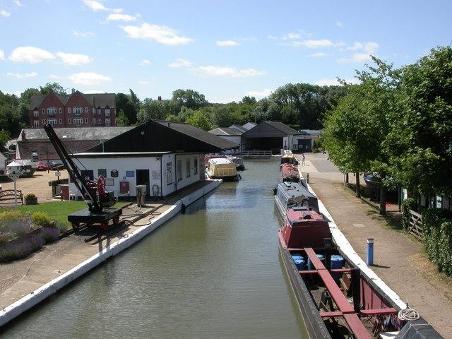 Braunston, boatyards