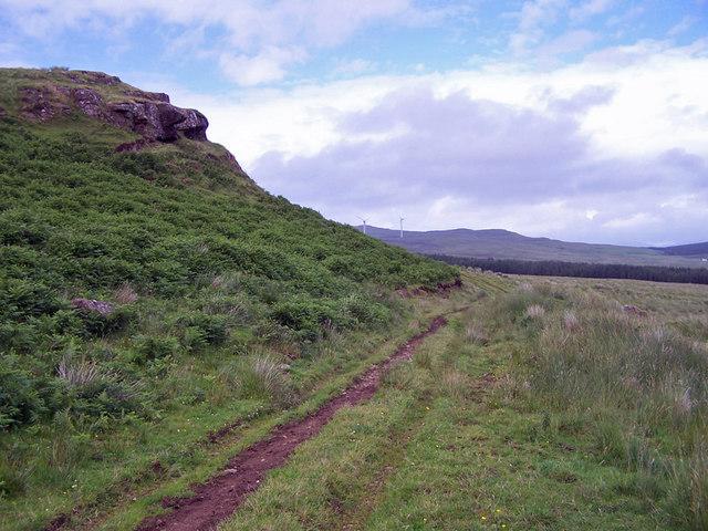 Farm track in Glen Ullinish