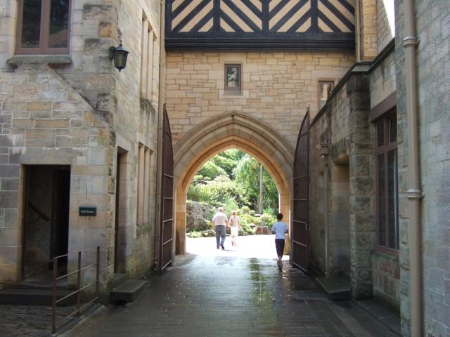 Inner courtyard, Cragside House
