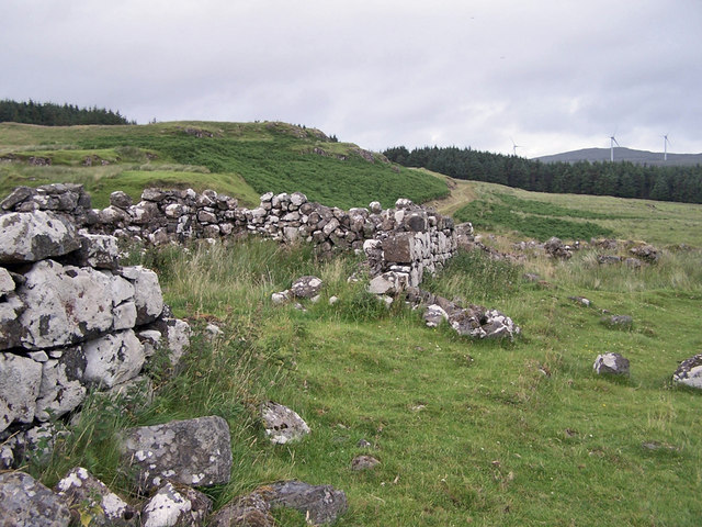 Ruins in Glen Ullinish