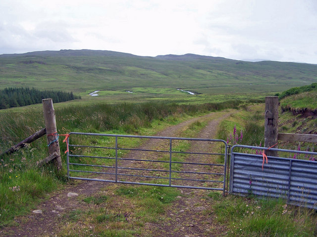 Gate in the track